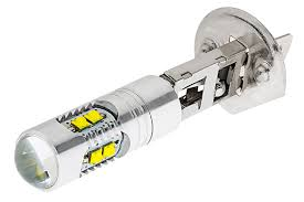 H1 vita 1-pack LED dimljus lampa till bilen, MC, ATV