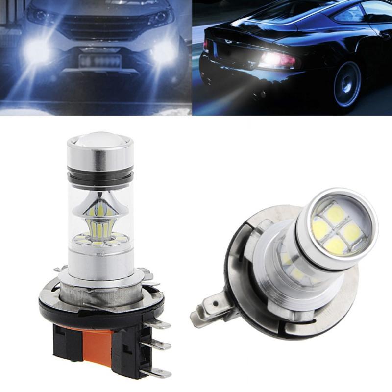 H15 LED lampa belysning med 55 WATT till bilen