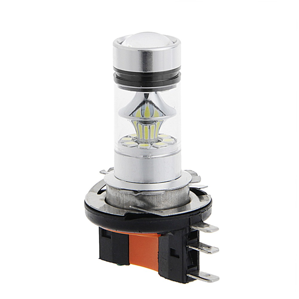 kraftiga h15 led belysnings lampor till bil 80 watt. Black Bedroom Furniture Sets. Home Design Ideas