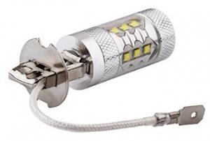 H3 LED diod-lampa Xenon-vit kraftiga lampor 60W