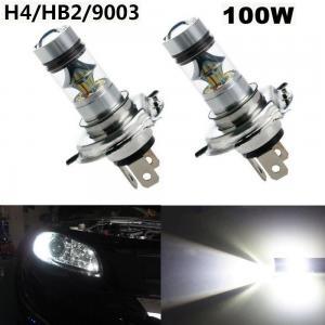 H4 stark LED dimljus lampa belysning med 60 Watt