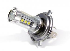 H7 Vit LED diodlampa / lampa till bilen med 60 watt