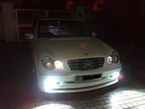 H7 Vit LED diodlampa / lampa till bilen 50 watt