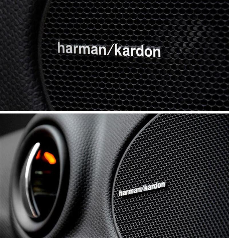Harman Kardon emblem till högtalarna. Högtalaremblem