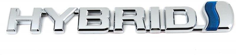 Universal Hybrid logo emblem märke till bilen
