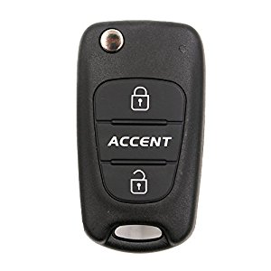 Hyundai accent nyckelskal /larmdosa med 3 knappar