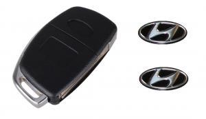Hyundai logo emblem till bilnycklarna 2-pack