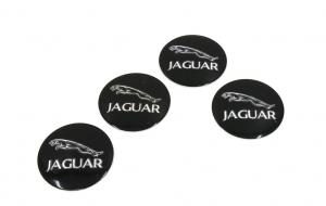 Jaguar hjulnav emblem 56 mm 4-pack
