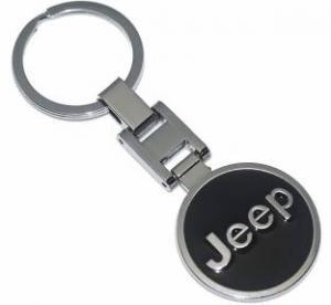 JEEP logo nyckelring nyckelhänge