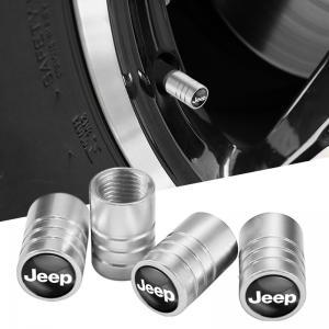 JEEP logo ventilhattar ventillock till bilen 4-pack