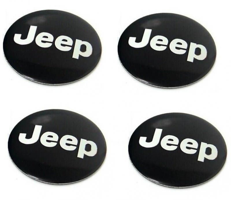 Jeep hjulnav emblem fälgemblem 56, 65 mm