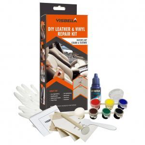 Läderreparation, renovering kitt för alla färger