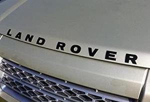Land Rover emblem till motorhuv, bagagelucka
