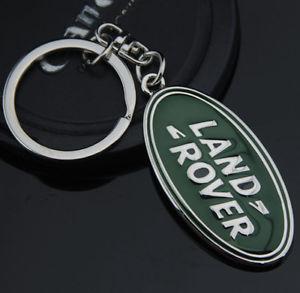 Land Rover logo bilmärke nyckelring nyckelhänge