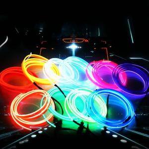 GLOWSTRIP LED strip belysning för bilinteriör styling