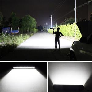 """LED ljusramp 52"""" 500W CREE böjd 5D stark belysning"""