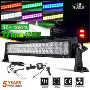 LED ramp extraljus RGB alla färger 22 och 32 tum