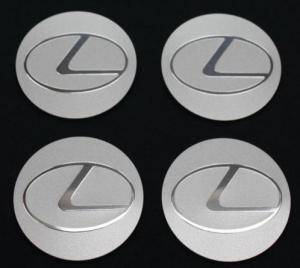 Lexus logo hjulnav emblem, fälgemblem 56, 65mm
