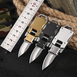 Mini fickkniv kniv med mini vässare på köpet