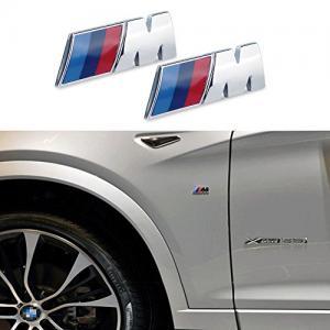 BMW M logo emblem till skärmar och bagagelucka