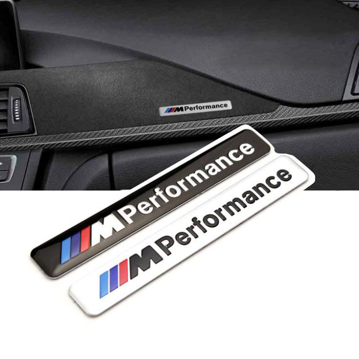 BMW M Performance logo interiör emblem, märke