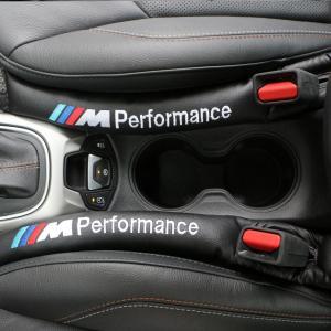 BMW M performance logo kuddar till bilen