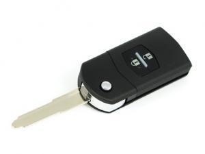 Mazda nyckeldosa fjärrnyckel med 2 knappar