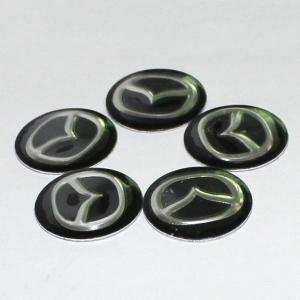 Mazda emblem till bilnycklarna 2-pack