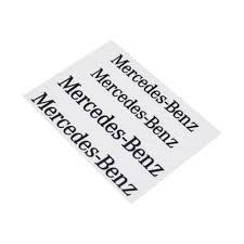 Mercedes Benz dekaler stickers till bromsarna