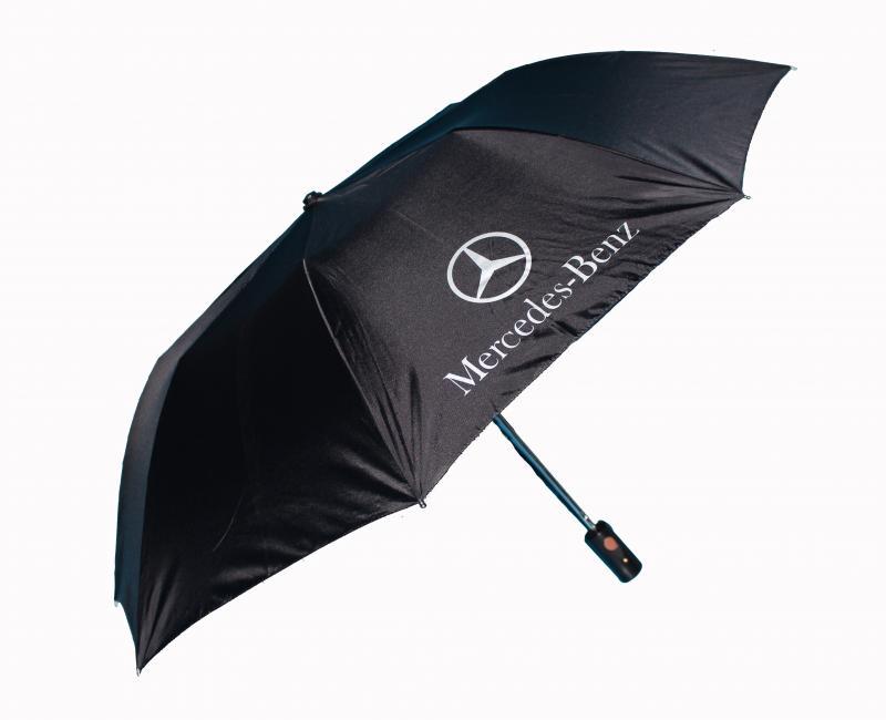 Mercedes Benz paraply. Perfekt för att ha i bilen