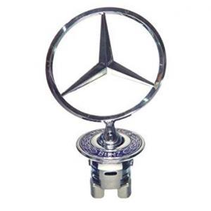 Mercedes Benz stjärna star emblem till huv