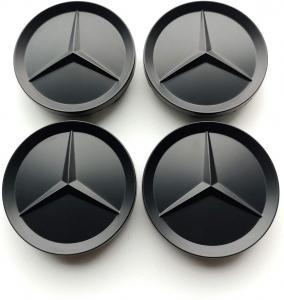 Mercedes Benz 63 mm centrumkåpor navkåpor