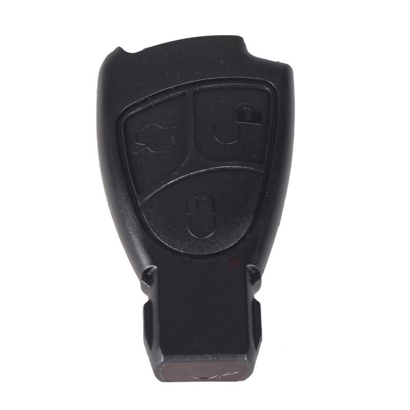 Mercedes MB larmdosa / nyckelskal med 3 knappar