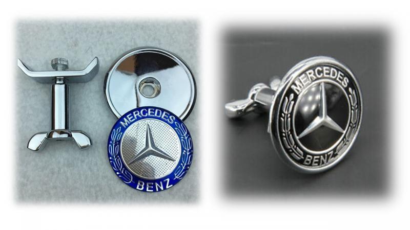 Mercedes Benz huv emblem w203 w204 w210 w211
