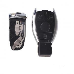 Mercedes Benz larmdosa nyckel med 3 knappar