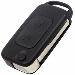 Mercedes nyckeldosa fjärrnyckel med 2 knappar