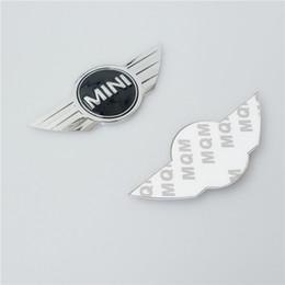 MINI logo emblem till bilnycklarna 2-pack