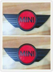 MINI emblem till bagagelucka / huv i svart