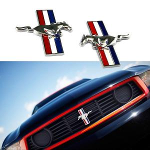 Ford Mustang emblem märke till skärmarna