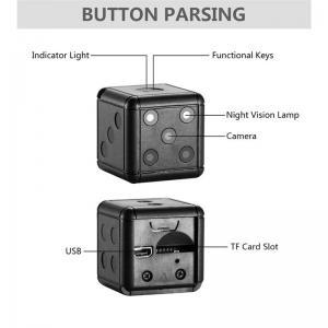 Mini dold kamera spion kamera i form av tärning