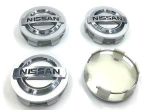 Nissan centrumkåpor 54 mm till bilen 4 pack