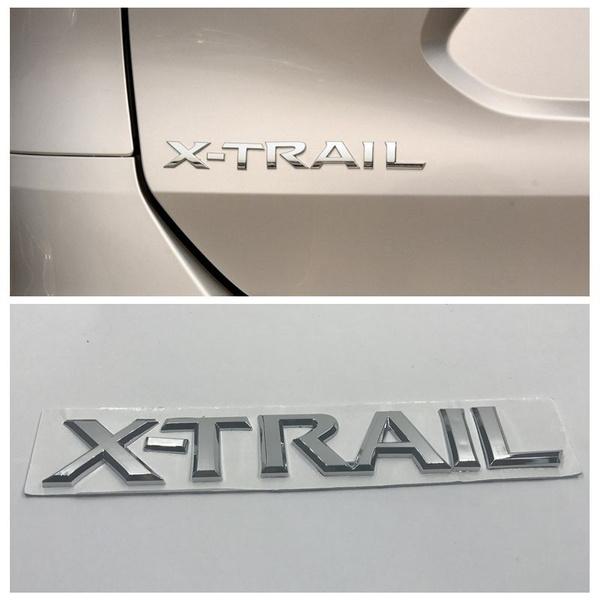 Nissan XTRAIL logo emblem till bagagelucka