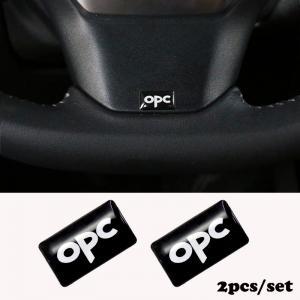 Opel OPC emblem 2 st för interiör eller exteriöret