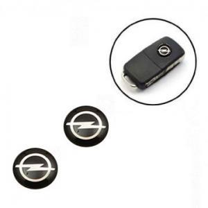 Opel logo emblem till bilnycklarna 2-pack