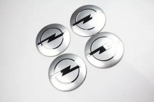 Opel fälgemblem emblem i silverfärg 56, 65 mm