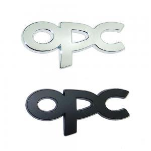 Opel OPC emblem märke till bilen, svart / silver