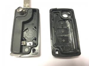 Citröen & Peugeot nyckelskal larmdosa med 3 knappar