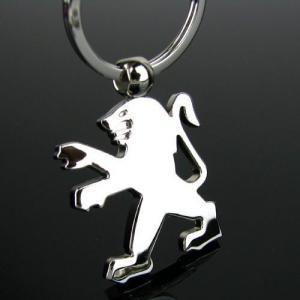 Peugeot logo originell nyckelring nyckel hänge