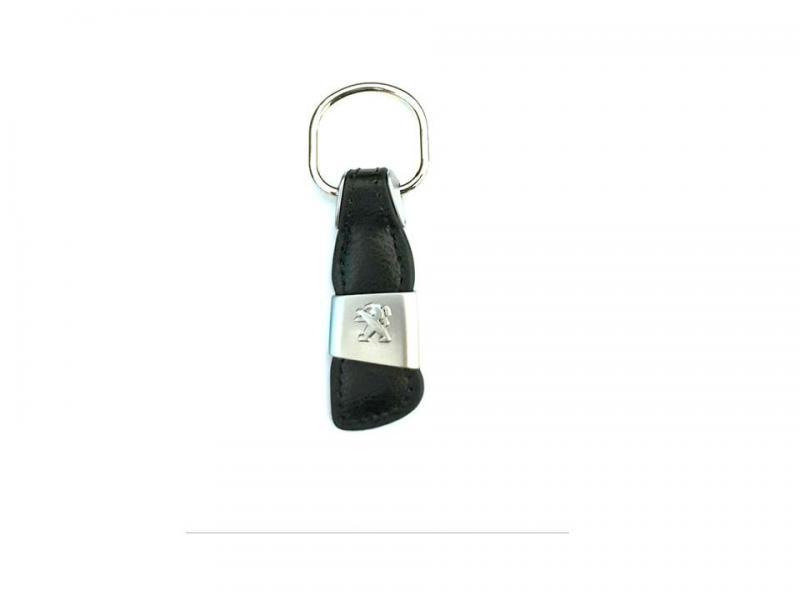 Peugeot nyckelring i läder till nyckelknippan