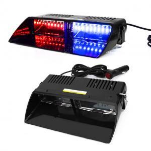 Polislampor LED blixtljus strobe röd och blå polis lampor